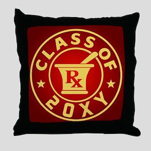Class of 20?? Pharmacy Throw Pillow