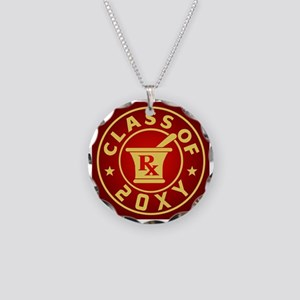 Class of 20?? Pharmacy Necklace Circle Charm