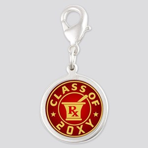 Class of 20?? Pharmacy Silver Round Charm