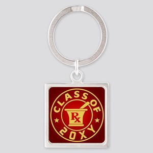 Class of 20?? Pharmacy Square Keychain