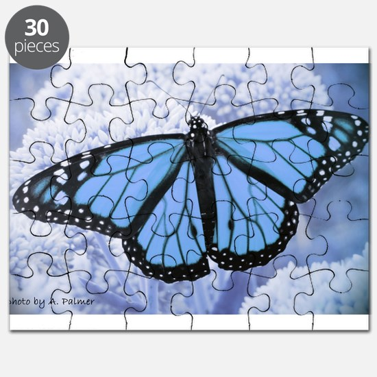 Funny Butterfly blue Puzzle