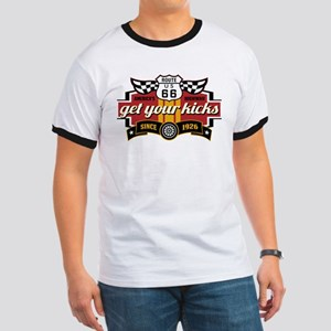 Get Your Kicks Men's Ringer T-Shirt