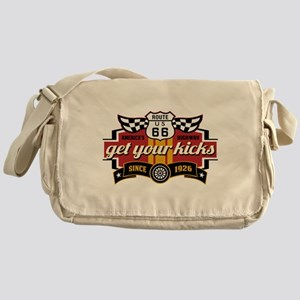 Get Your Kicks Messenger Bag