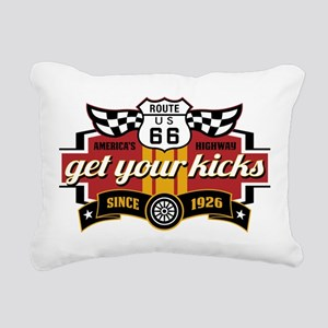 Get Your Kicks Rectangular Canvas Pillow