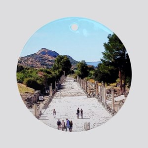 A Turkish Journey Ornament (Round)
