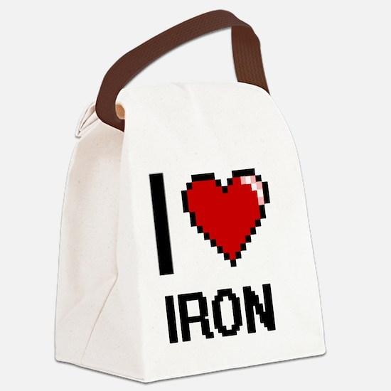 Cute Ferrous Canvas Lunch Bag