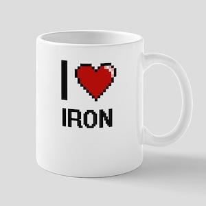 I Love Iron Mugs