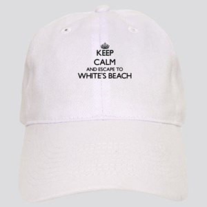 Keep calm and escape to White'S Beach Wisconsi Cap