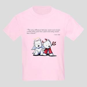 KiniArt Saint & Sinner Kids Light T-Shirt