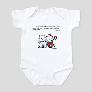 KiniArt Saint & Sinner Infant Bodysuit