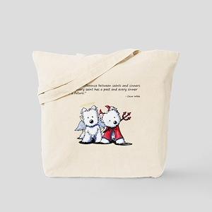 KiniArt Saint & Sinner Tote Bag
