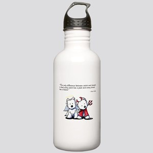 KiniArt Saint & Sinner Stainless Water Bottle 1.0L