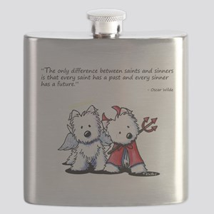 KiniArt Saint & Sinner Flask