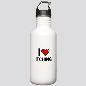 I Love Itching Stainless Water Bottle 1.0L