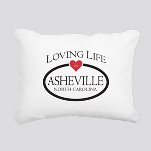 Loving Life in Asheville, NC Rectangular Canvas Pi