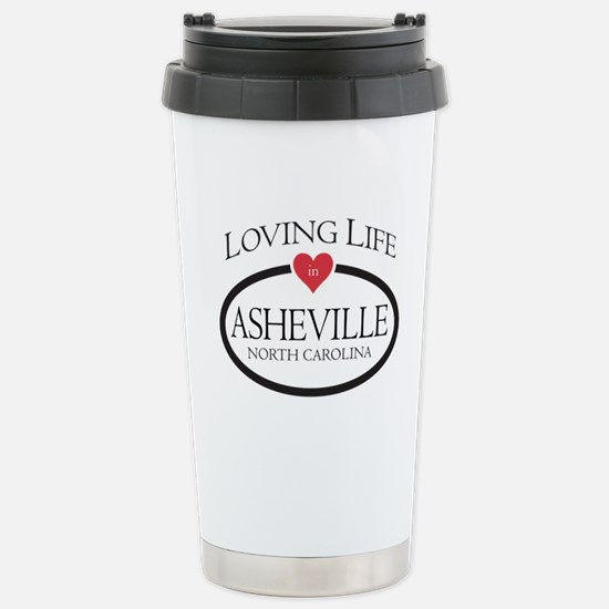 Loving Life in Asheville, NC Travel Mug