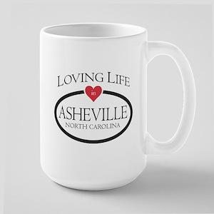 Loving Life in Asheville, NC Mugs