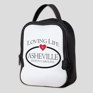 Loving Life In Asheville, Nc Neoprene Lunch Bag