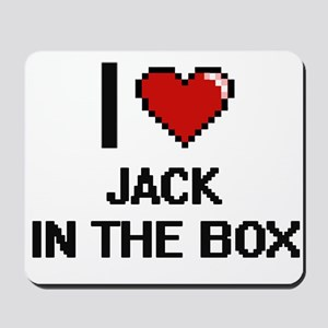 I Love Jack In The Box Mousepad