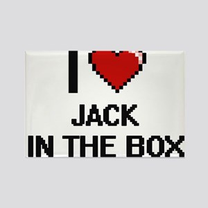 I Love Jack In The Box Magnets