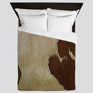 Cow Hide Queen Duvet
