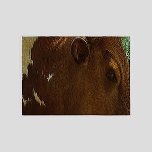 Western Bull 5'x7'Area Rug