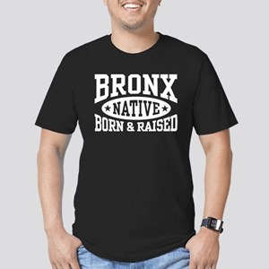 Bronx Native Men's Fitted T-Shirt (dark)