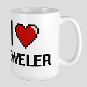 I Love Jeweler Mugs