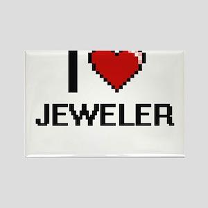 I Love Jeweler Magnets
