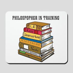 Philosopher in Training Mousepad