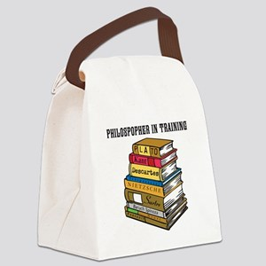 Philosopher in Training Canvas Lunch Bag