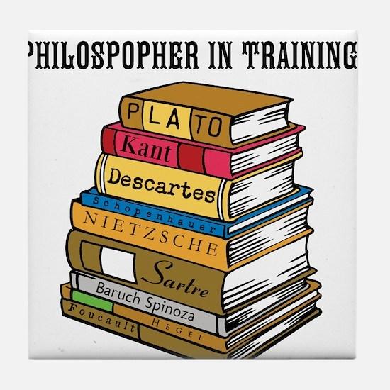 Philosopher in Training Tile Coaster