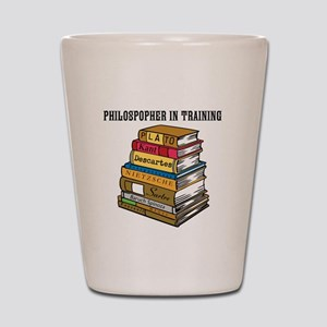 Philosopher in Training Shot Glass