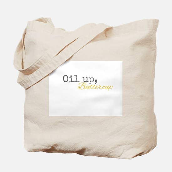 Oil Up Buttercup Tote Bag