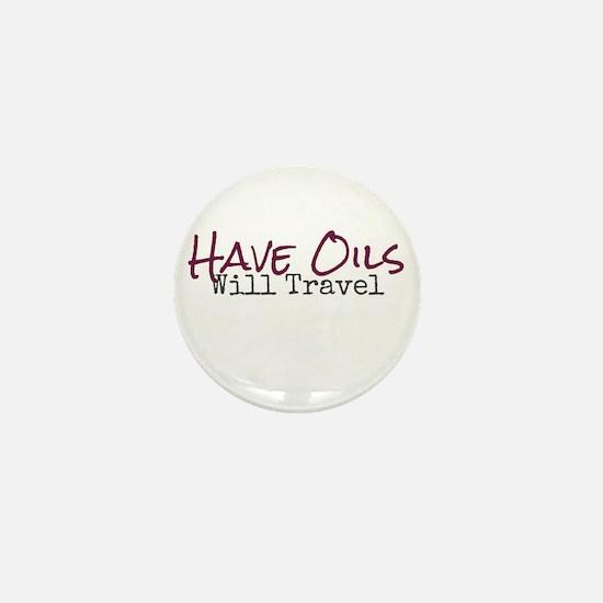 Have Oils Will Travel Mini Button