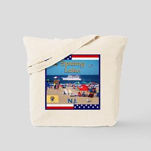 Spring Lake NJ Tote Bag