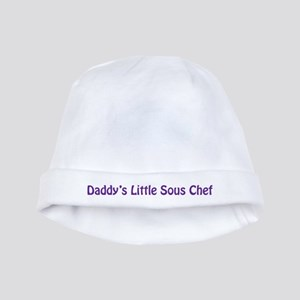Daddy's Little Sous Chef baby hat