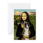 Mona & Boxer Greeting Cards (Pk of 20)