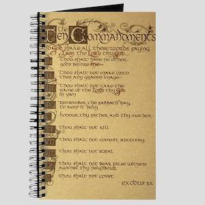 ten commandments Journal