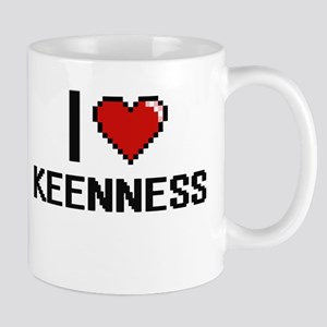 I Love Keenness Mugs