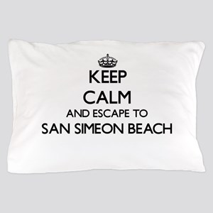Keep calm and escape to San Simeon Bea Pillow Case