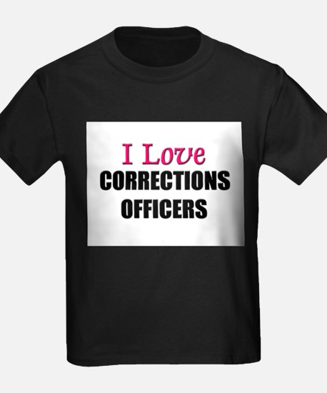 I Love CORRECTIONS OFFICERS T
