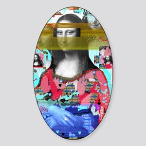 My Mona Sticker (Oval)