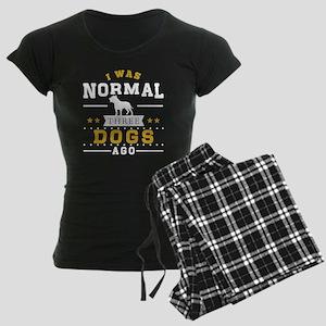 I Was Normal Three Dog Ago Pajamas