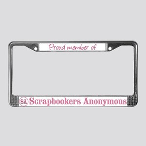 Proud Member of SA License Plate Frame