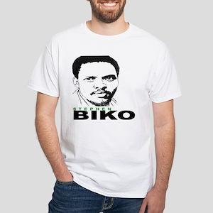 Steven Biko White T-Shirt