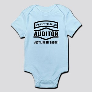 Auditor Just Like My Daddy Body Suit