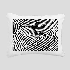 Fingerprints Rectangular Canvas Pillow
