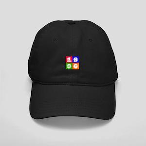 1996 Birthday Designs Black Cap