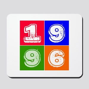 1996 Birthday Designs Mousepad